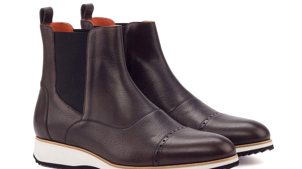 Mocha Chelsea Boots