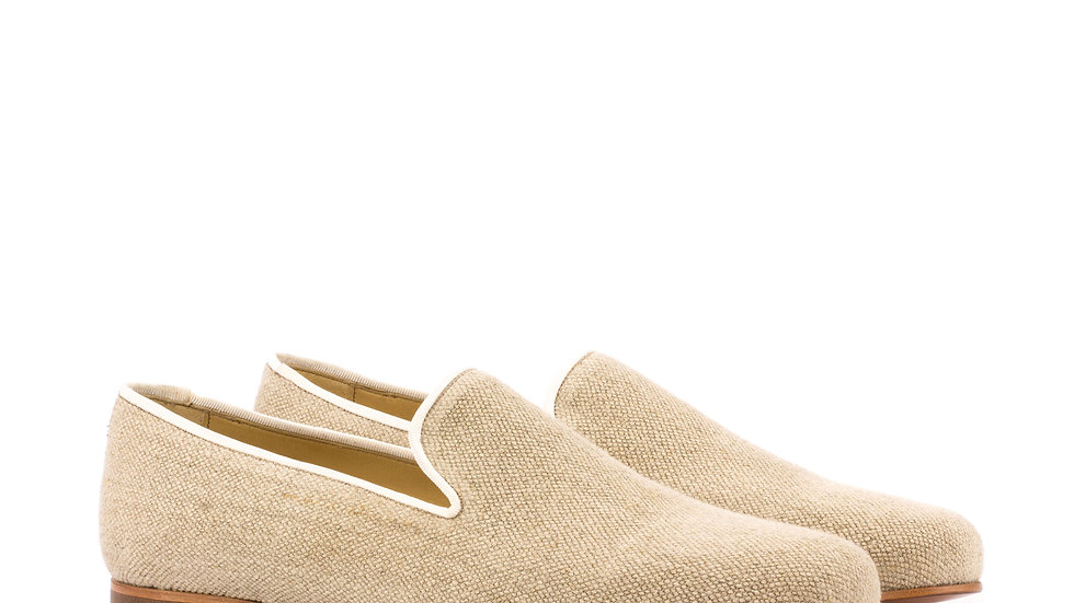 Ice Linen Wellington Loafer