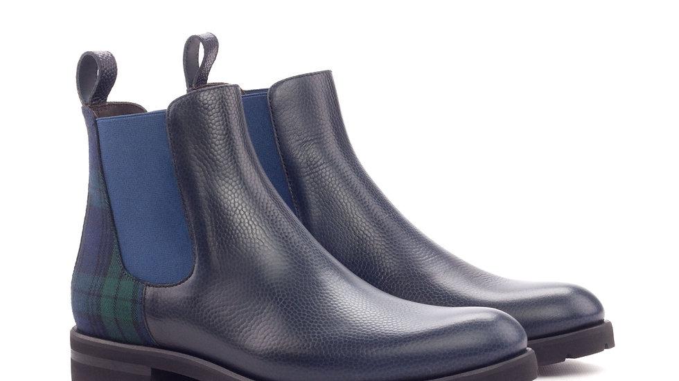 Marineblauwe Chelsea-kiezellaarzen voor dames