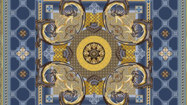 Yellow Mayfair Burlington House Piccadilly Pocket Square - Dorota Stu