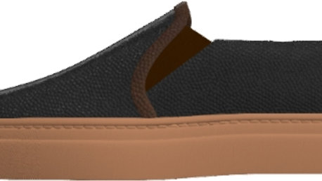 Pre-Order - Women's Black Mocha Slip-On