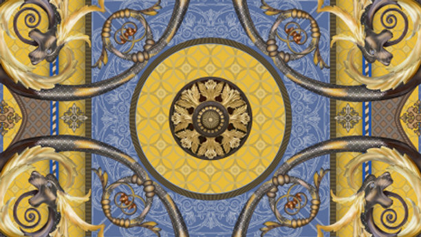 Gold Academy Gate Burlington House Piccadilly Pocket Square - Dorota Stumpf