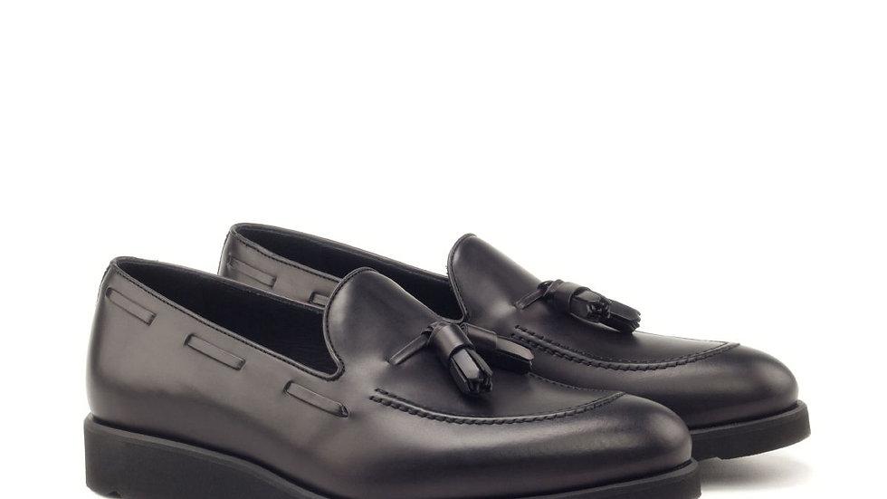 Zwarte Tassle Loafer