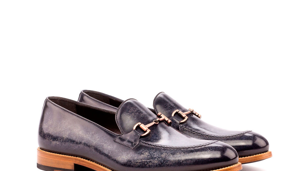 Smoke Patina Loafer