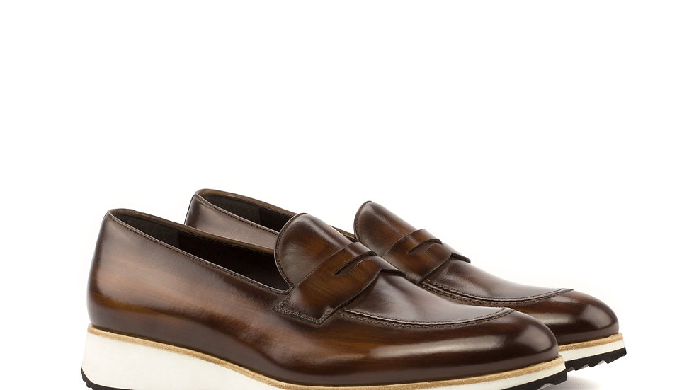 Mocha Patina Loafer