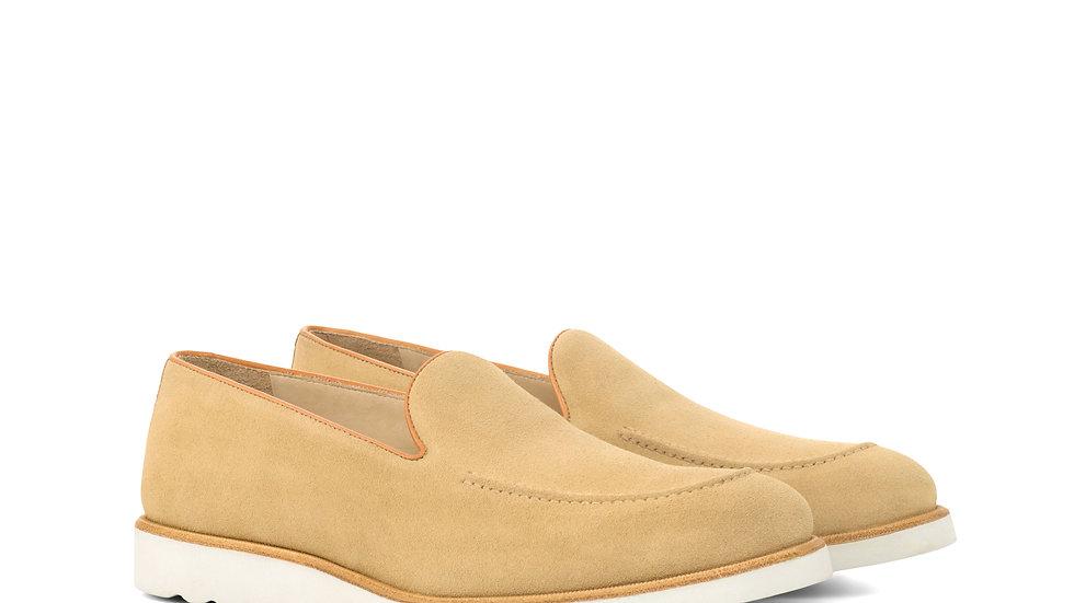 Camel Suede Loafer
