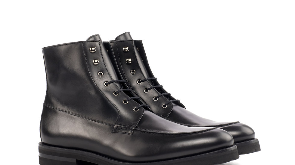 Black Moc Boots