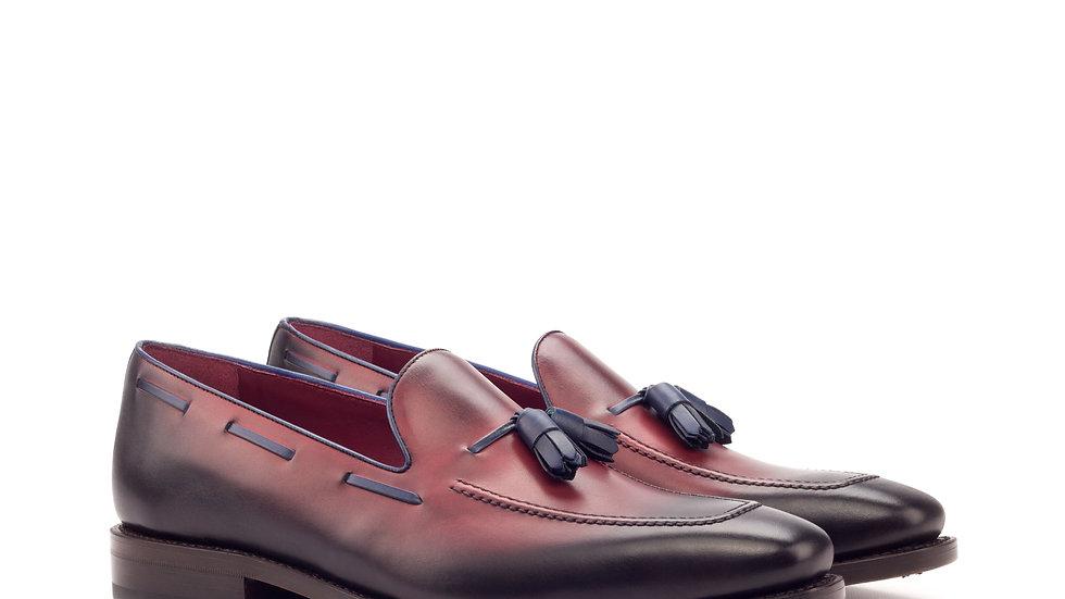 Oxblood Tassle Loafer