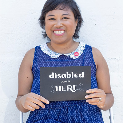 Disabled and Here Stock Photos