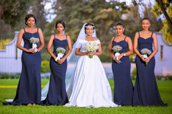 Neema & Bridesmaids