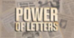 Power of Letters Key Visual Horizontal F
