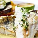 Seasoned White Fish and Shrimp