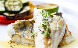 Udvarház Vendéglő Hal ételek