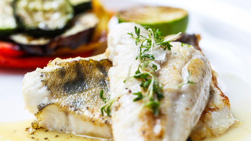 Frischer Fisch aus der Region