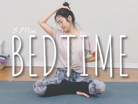 8 min Yoga for Deep Sleep & Relaxation | Bedtime Flexibility Stretches