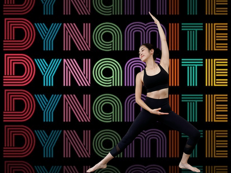 BTS DYNAMITE Full Body Yoga Pilates Workout Routine