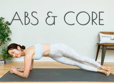 BEST Yoga Workout For Weight Loss - CORE STRENGTH