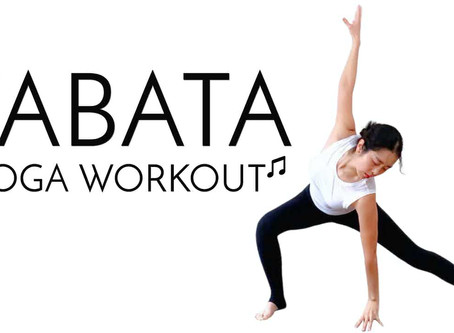 3min strong yet playful TABATA YOGA WORKOUT FOR WEIGHT LOSS