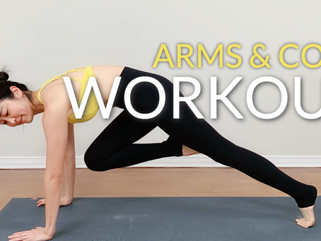 2021 Morning Yoga Workout Challenge | Arms/Core/Upper Body