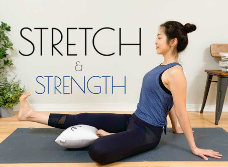 BEST Yoga Stretches For Strength and Flexibility - KNEES, Hips, Lower Back