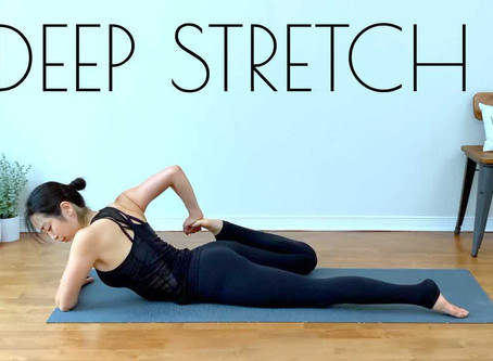 TOTAL Body DEEP Stretch - Yoga For FLEXIBILITY