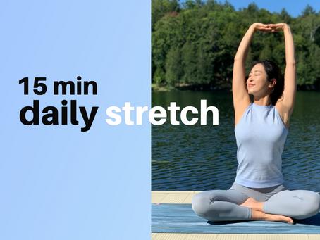 CASearch9+Avatar imageWake Up Morning Yoga - 15min Daily Stretch
