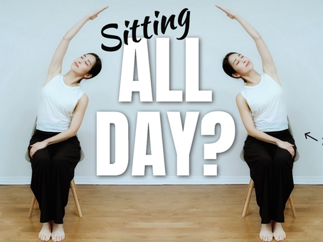 BEST Chair Stretches To Feel ENERGIZED