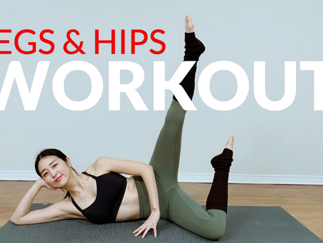 Good Morning Yoga Workout For Hips & Legs
