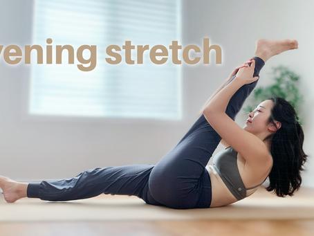 15min Evening Yoga Stretch | Bedtime Yoga for Lower back, Hips & Knees