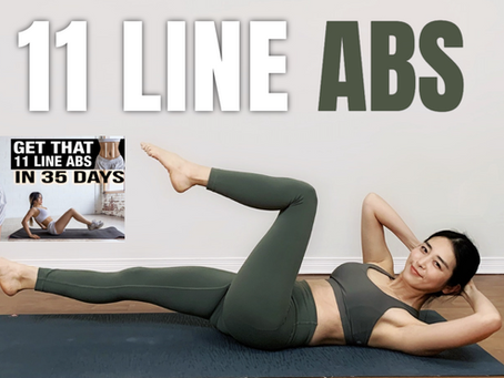 Get That 11 LINE ABS in 10 DAYS | Chloe Ting Inspired ABS WORKOUT CHALLENGE