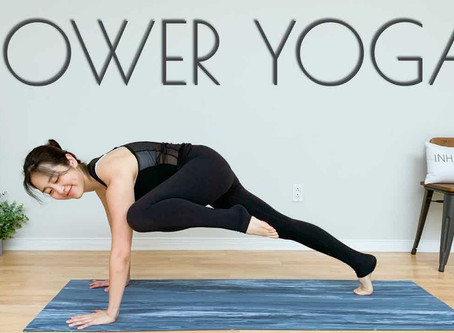 POWER Yoga Workout For Strength & Flexibility