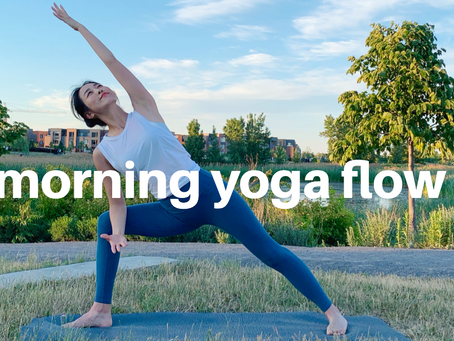Wake Up Yoga | Mindful Morning Flow for Full Body Stretch