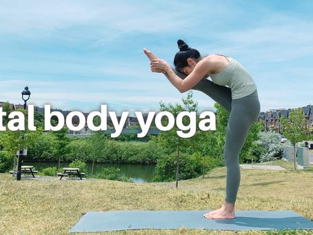 20min Total Body Yoga For Flexibility & Strength
