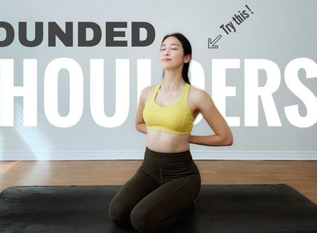 Healing Yoga Stretches For Rounded Shoulders