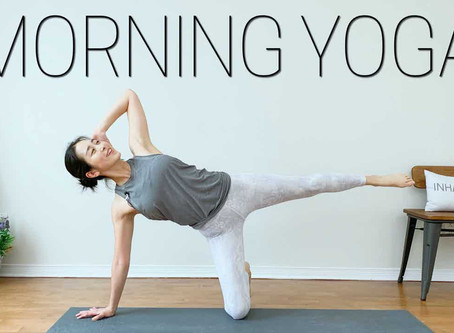 TOTAL Body Morning Yoga For Beginners - Slow Yet Strong Flow