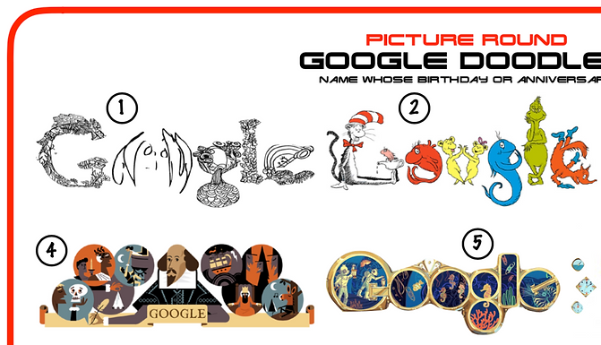 Google Doodles Picture Round