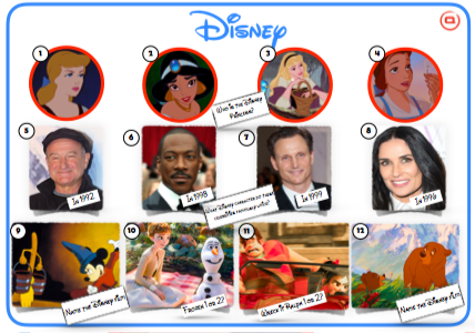 Disney Mixed Picture Round 2