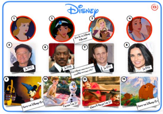 Disney Mixed Picture Round 2