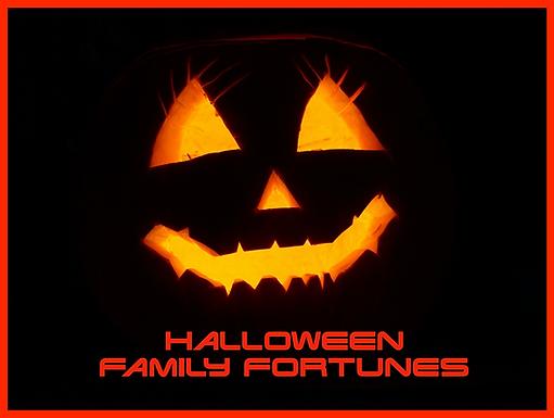 Family Fortunes Handout 15 - Halloween