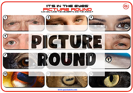 'It's in the Eyes 2'  Picture Round
