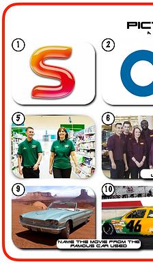 Mixed Pic Round 13: Logos /Supermarkets / Movie Cars