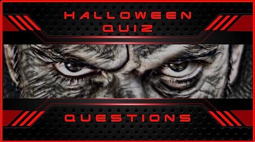 Halloween Quiz: 2020