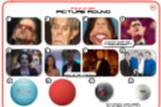 Mixed Pic Round 11: Caricatures / TV Shows / Balls