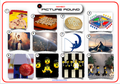 Mixed Picture Round 3