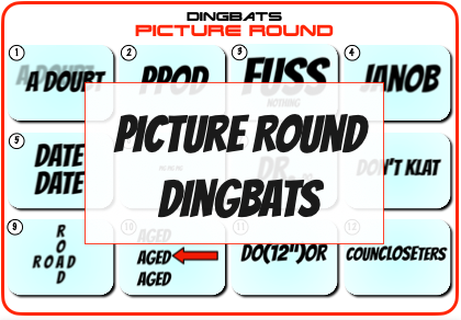 Dingbats Picture Round