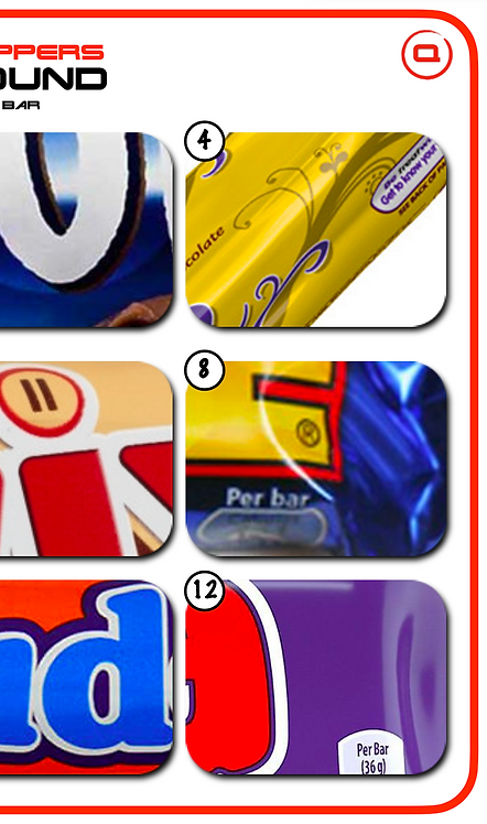 Picture Round: Chocolate Wrappers