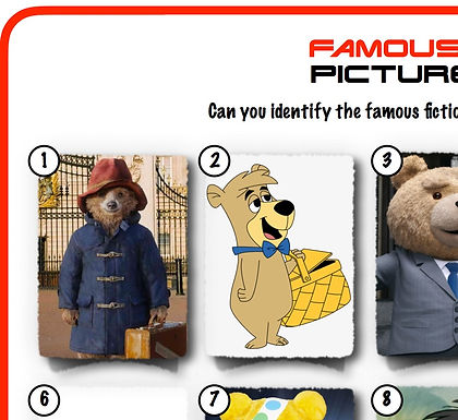 Famous Bears
