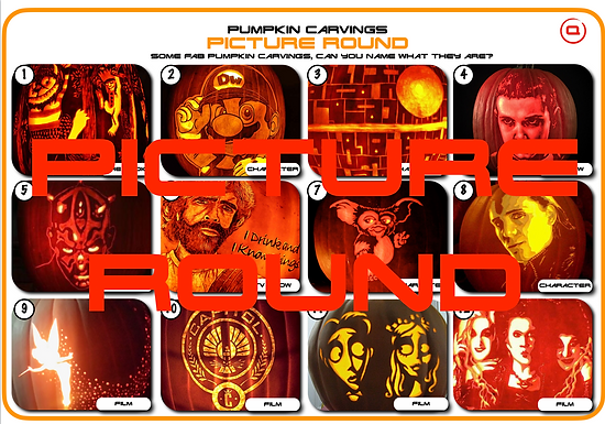Pumpkin Carvings Picture Round