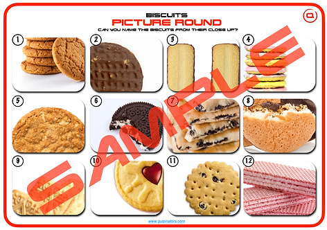 Biscuits - Picture Round