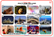 Mixed Pic Round 12: Myth Monsters / City Landmarks / Lego Movies